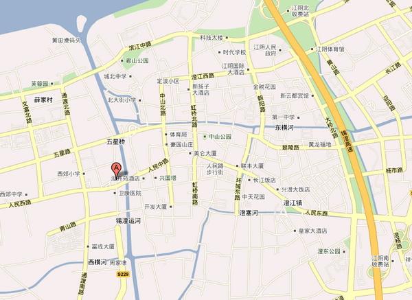 江阴振冲机械制造有限公司地理位置